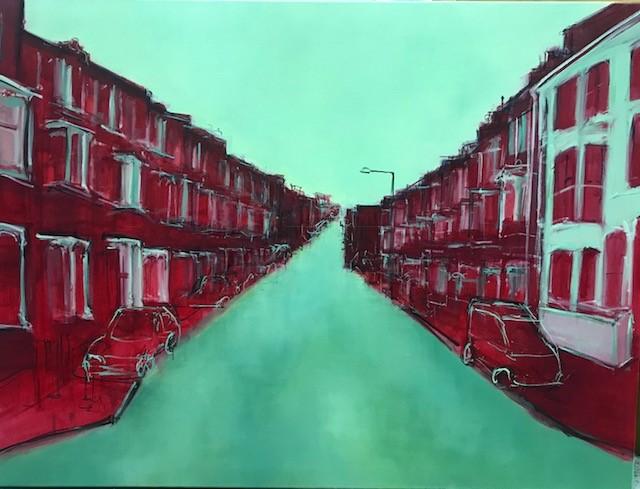 Street in Crimson